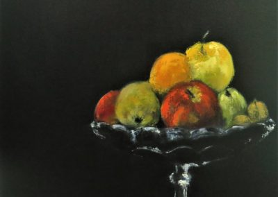 La coupe à fruits 50x60