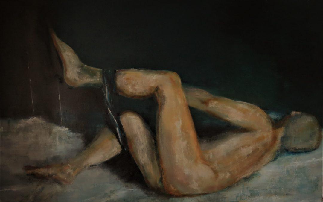 Le coquin,Huile sur toile,92X65
